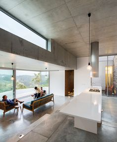 Gateira concrete house #interiordesign