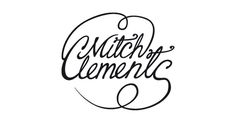 LOGOS Mitchell Clements #clements #miitchell #vector #illustration #logo