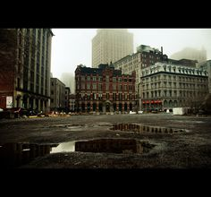 """Early sunday morning"" Part one on Behance #photography #grunge #cityscape"