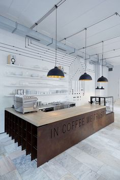modern industrial interior lighting
