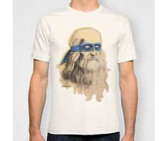 Leonardo Teenage Mutant Ninja Turtles T-shirt #printing #design #shirt