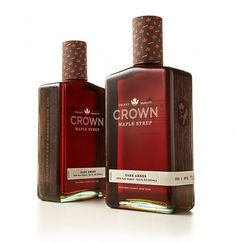 Looks like good New Graphic Design by Studio MPLS #mpls #crown #syrup #studio #maple