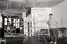 MONDOBLOGO: the genius of kenneth snelson #ken #sculpture #sculptor #snelson #art #york #nyc #artist #new