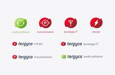 Tergyca Venezuela — #branding #logo #power #technology #energy #red #it #nature #simple #minimal #minima #studio #minimalism #brand #desig
