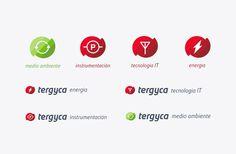Tergyca Venezuela — #branding #logo #power #technology #energy #red #it #nature #simple #minimal #minima #studio #minimalism #brand #desig