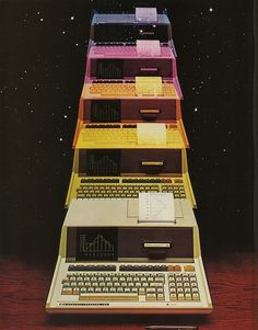 Flickriver: Photoset 'Omni Magazine' by Eric Carl #computer #sci #fi #space #science