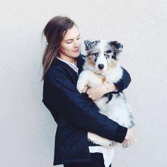 inspiration, dog, girl