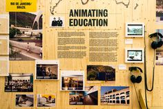 Animating Education by Aberrant Architecture #layout