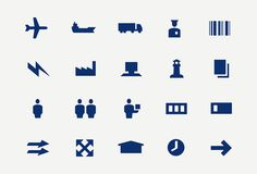 DSV Corporate icons #icons #minimal