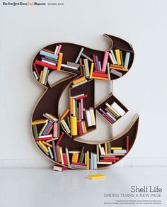 60 Creative Bookshelf Ideas #ideas #bookshelf