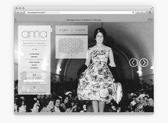Boutique anna website #webdesign #fashion #identity