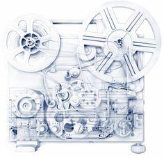 X-Ray Objects Series | Fubiz™ #recorder #xray