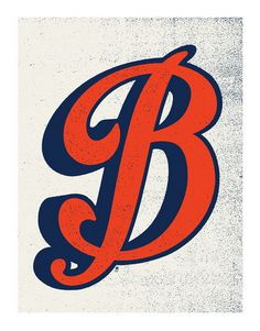 Letter B by Methane Studios #illustration #poster #typography