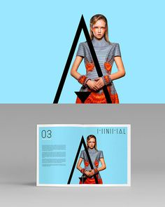 Outstanding editorial design. #fashion #typography