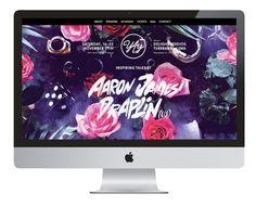 Yay Festival 2012, Snask #font #festival #snask #handwritten #webdesign #yay #web #flowers