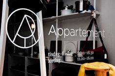 Appartement Identity #rounded #cafe #gotham