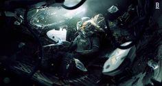 Weyland Yutani Shuttle failed escape from LV-426