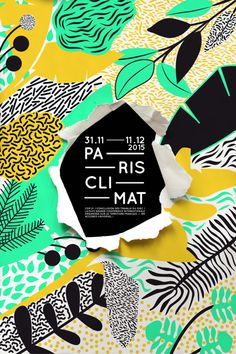 Paris Climat Posters. - #PosterDesign by In the pool