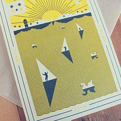 Enjoy Seasons Cards on Behance #seasons #summer