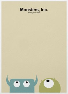 Monsters, Inc. – A3 Poster #poster #illustration #monter