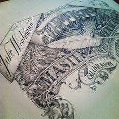 Typeverything.com - All pencil by Jake Weidmann - Typeverything #illustration #type #pencil #detail #sketch #typography