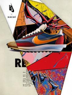 Kazuhiro-aihara-graphic-design-work-itsnicethat-01 #poster #past #nike #sneakers