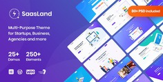 Saasland - MultiPurpose WordPress Theme for Startup - Software Technology