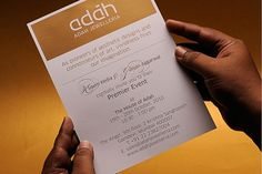 Adah Jewelleria on the Behance Network #invite #branding #design #graphic #book #adah #identity #jewelry #gold #brochure
