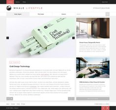 R&Co. Design Whale Lifestyle Website http://r-ny.com/ #grid #design #web #minimal