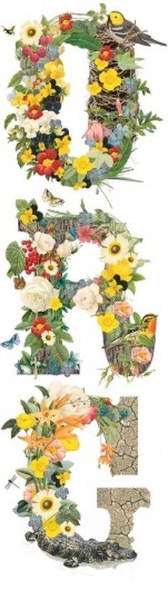 Neuarmy™ » Organic Type #typo #flowers