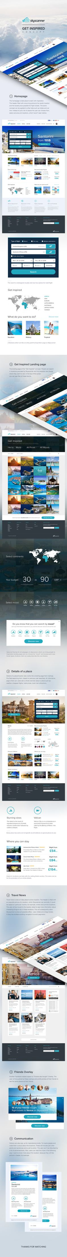 Behance-case-study #inspired #ui #website #be #skyscanner