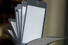 PixelPads: Notepads That Resemble Your iPads and iPhones Photo #iphone #notepad #ux