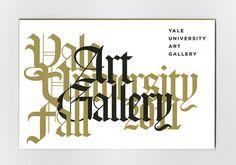 Yale University Art Gallery - Jessica Svendsen #yale #blackletter #svendsen #jessica
