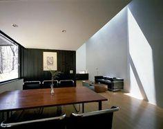 p03.jpg (500×396) #white #interiors #black #wood #architecture #houses