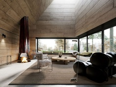 The Oak Refuge by Corpus Studio