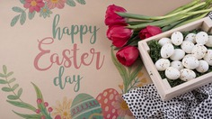 Happy easter day Free Psd. See more inspiration related to Flower, Mockup, Floral, Box, Typography, Spring, Leaves, Celebration, Happy, Font, Holiday, Mock up, Easter, Plant, Drawing, Religion, Egg, Painting, Wooden, Lettering, Traditional, Cloth, Test, Tulip, View, Up, Happy easter, Day, Top, Top view, Eggs, Cultural, Tradition, Wooden box, Mock, Seasonal and Paschal on Freepik.