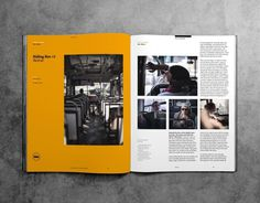 The Outpost Magazine #grid #outpost #layout #editorial #magazine