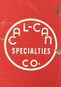 Type Hunting #cal-can #logo