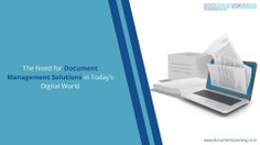 The Need for Document Management Solutions in Today's Digital World