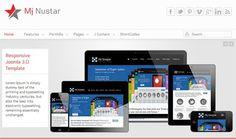 Mj nustar - free Responsive joomla 3.0 Template #responsive #30 #free #template #joomla