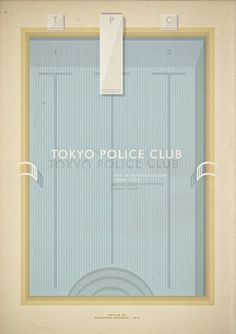 All sizes | tokyo police club | Flickr - Photo Sharing! #illustration #gig #poster