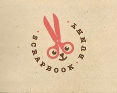 Scrapbook Bunny by jerron #logo #design #bunny #branding