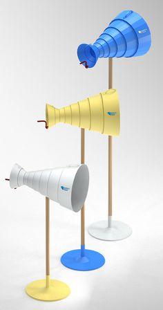 Bird\'s Talk is a playful interpretation of a traditional wooden nest box .