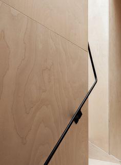 Plywood House by Simon Astridge. #plywood #simonastridge #minimal #detail