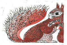 JooHee Yoon #illustration #squirrel