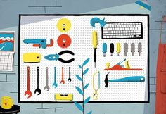 Mac tools - Sam Brewster #illustration #sam #brewster