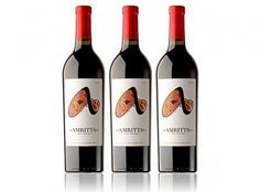 Amritta Wine Label - FPO: For Print Only #packaging #product #identity