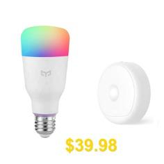 Yeelight #Combination #Light #Smart #Bulb #E27 #/ #USB #Night #Lamp #( #Xiaomi #Ecosystem #Product #) #- #WHITE