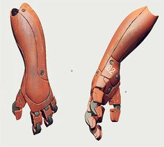 OTAKU GANGSTA #sci fi #hand #robot #arm #mecha #cyborg
