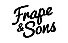 Frape & Sons - Boutique Bitters #badge #logo #brand #identity #lettering #bitters #typography #alcohol #booze #labels